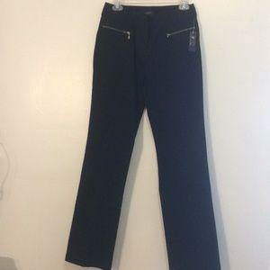 Black stretch slacks